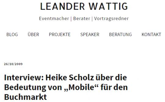 Leander Wattig