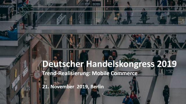 Deutscher Handelskongress Vortrag