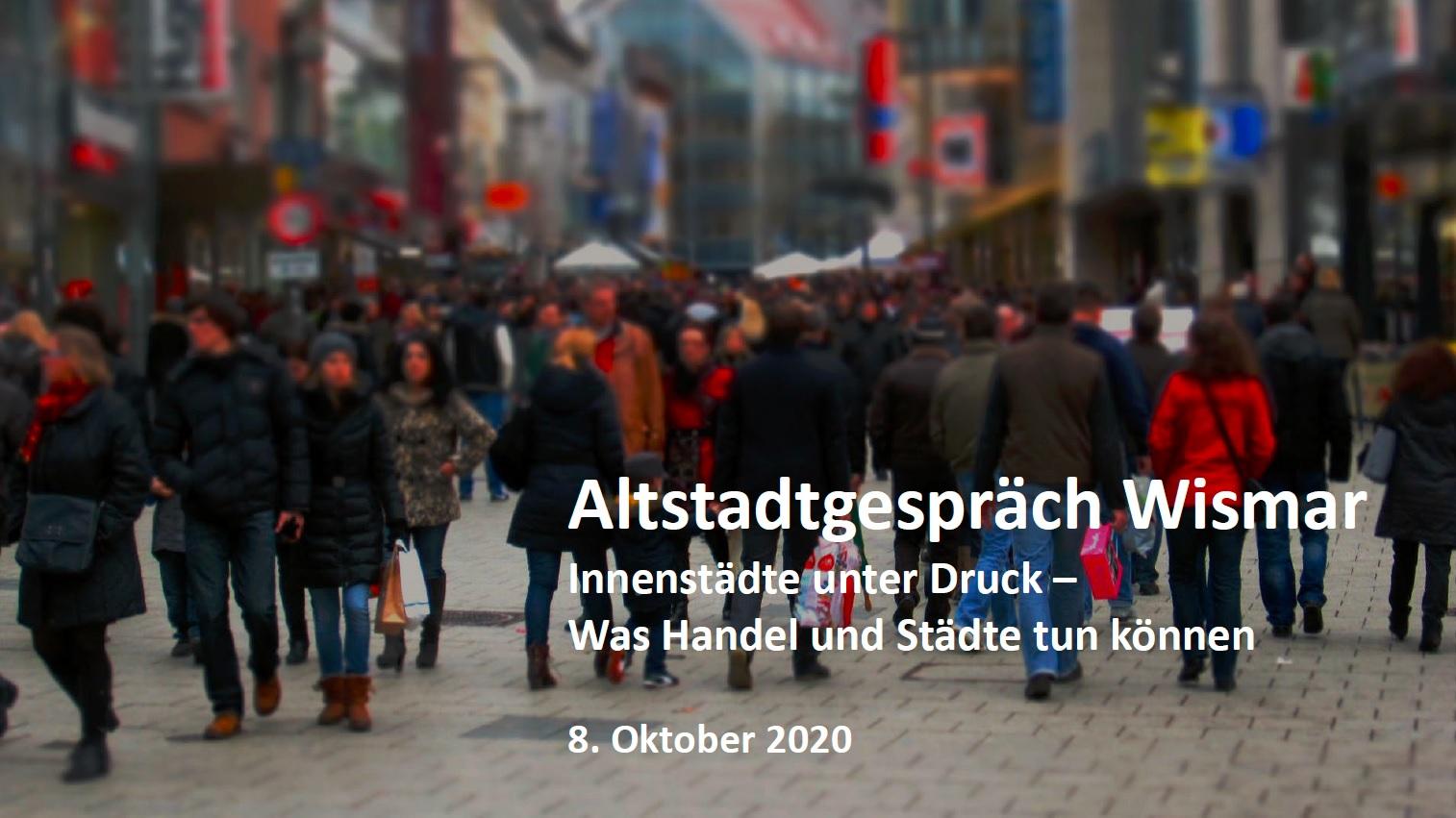 Altstadtgespräch Wismar